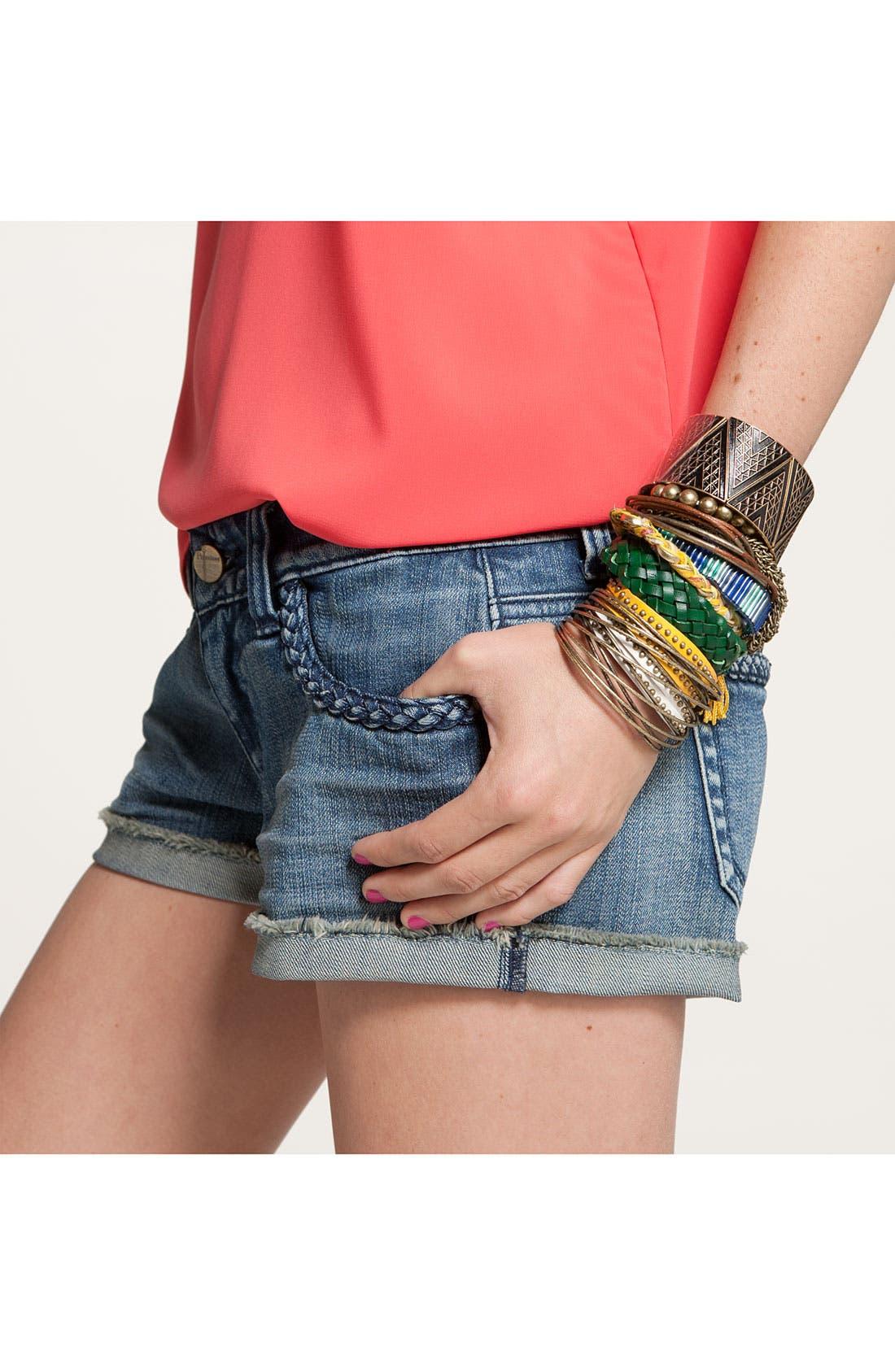 Alternate Image 2  - Carole Woven Leather Bracelet