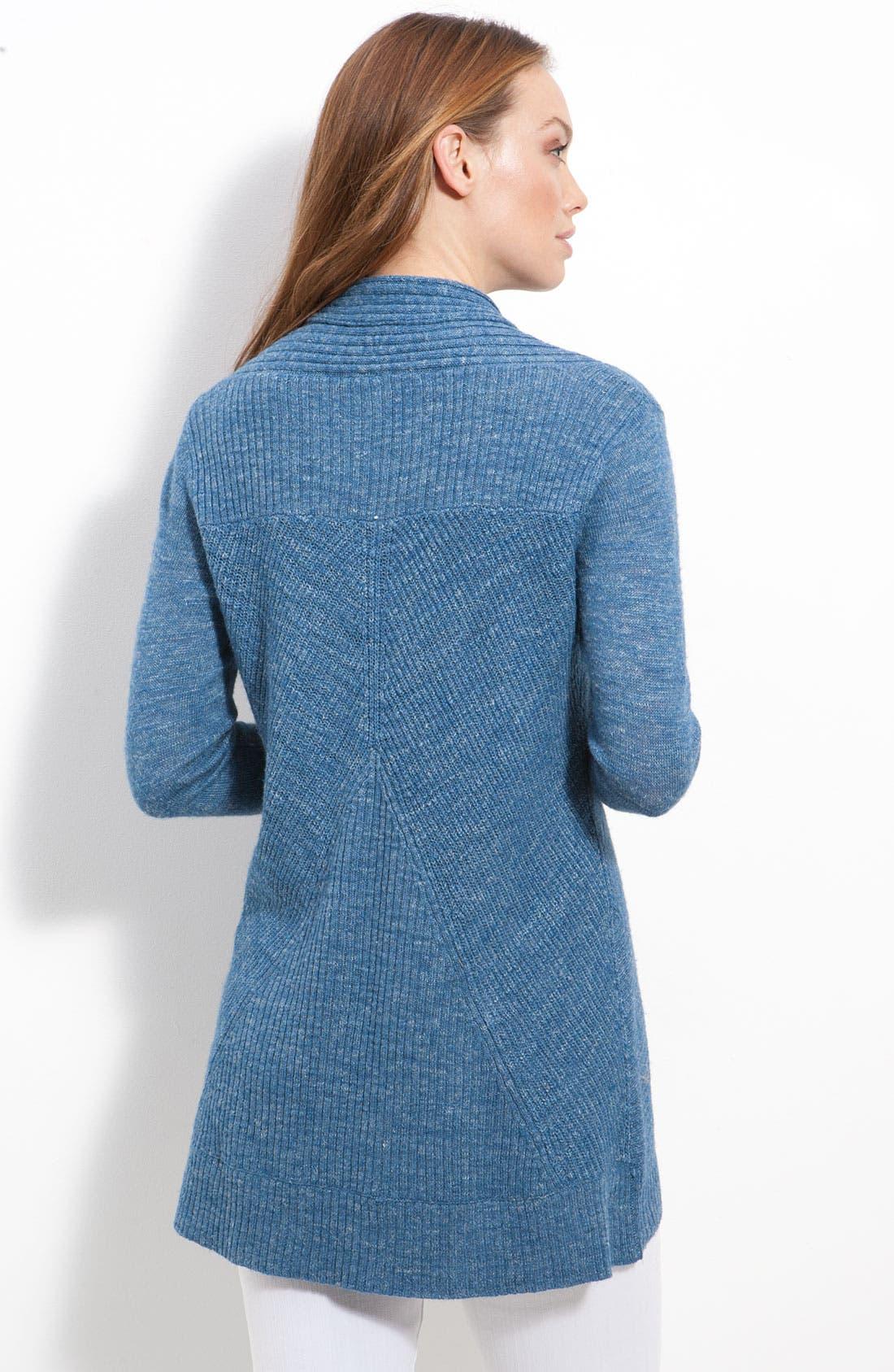 Alternate Image 2  - Eileen Fisher Cowl Neck Textured Sweater