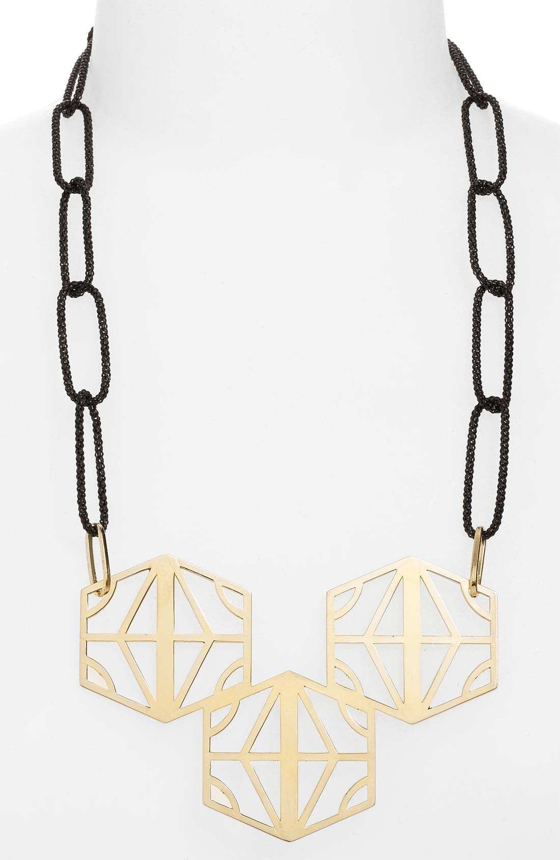 Alternate Image 1 Selected - Konstantina Plati Hexagon Statement Necklace