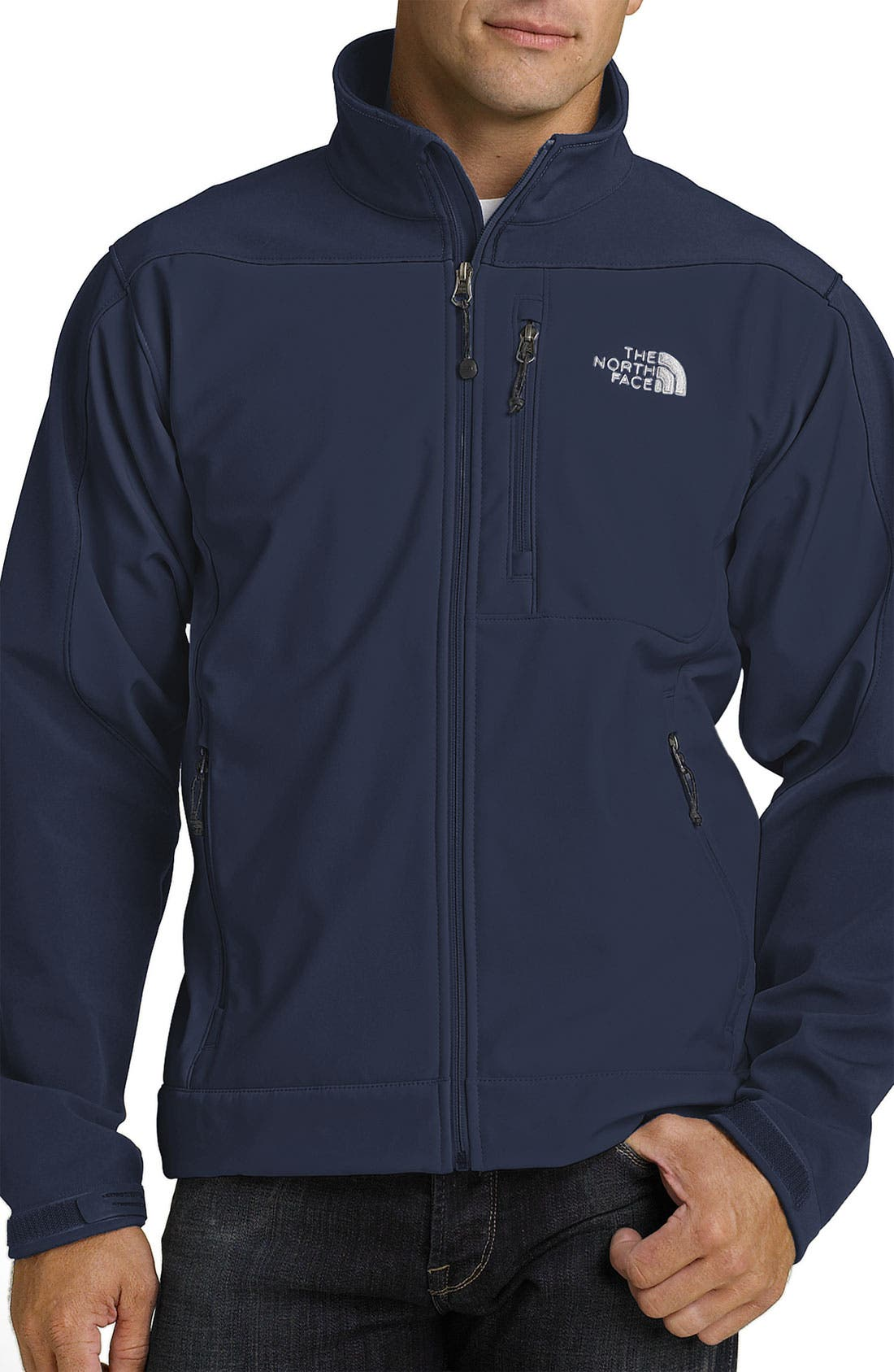 Main Image - The North Face 'Apex Bionic' Softshell Jacket