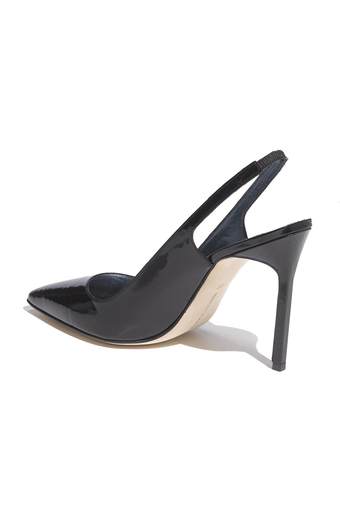 Alternate Image 2  - Manolo Blahnik 'Marcafac' Patent Pump
