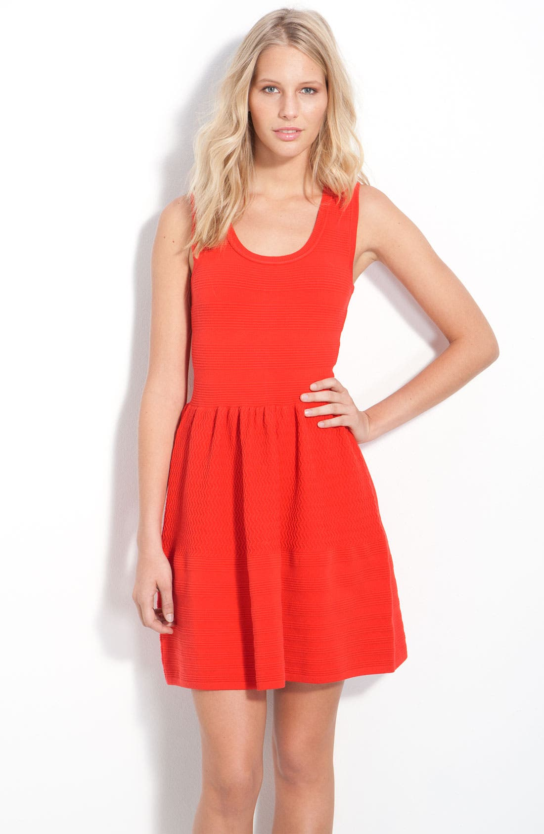 Main Image - Juicy Couture Sleeveless Textured Dress