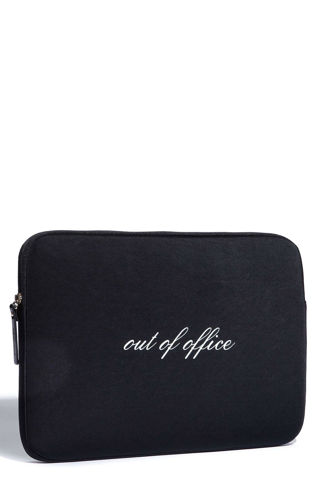 Main Image - kate spade new york 'out of office' laptop sleeve (13 Inch)