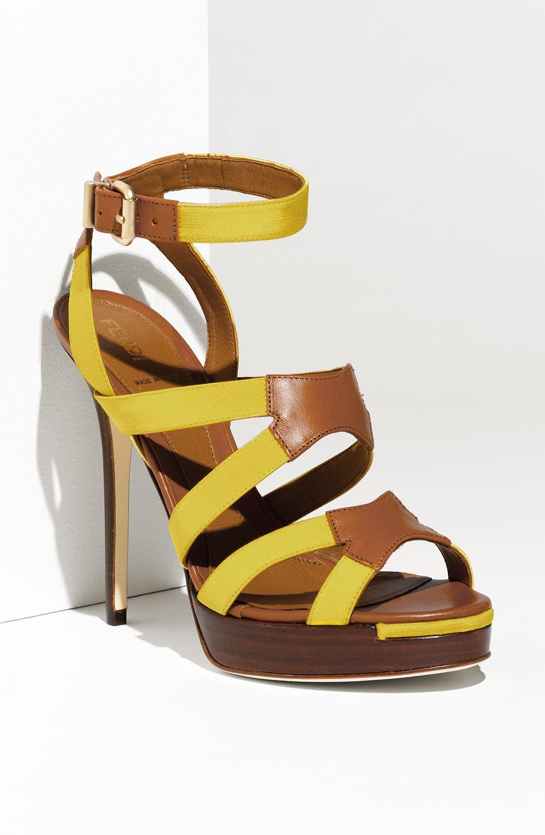 Alternate Image 1 Selected - Fendi 'Rio' Sandal