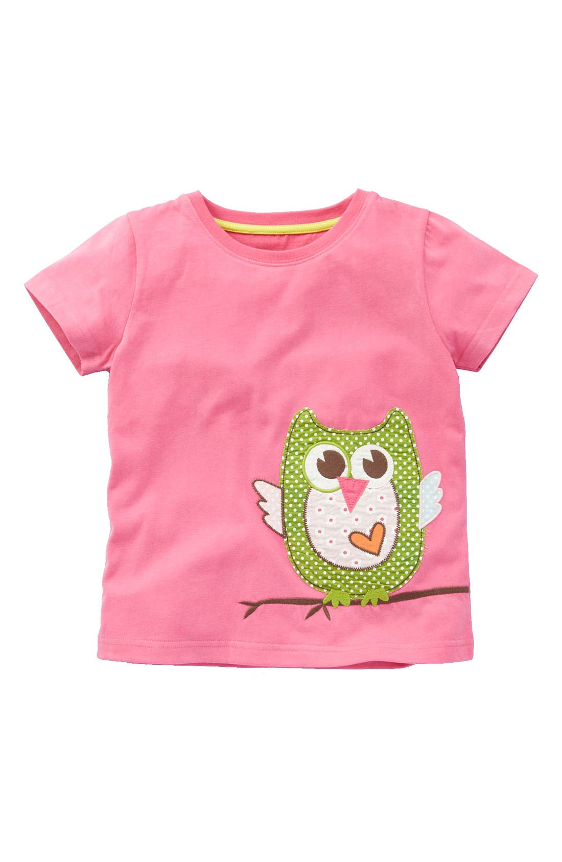 Alternate Image 1 Selected - Mini Boden 'Animal Patchwork' Tee (Toddler)