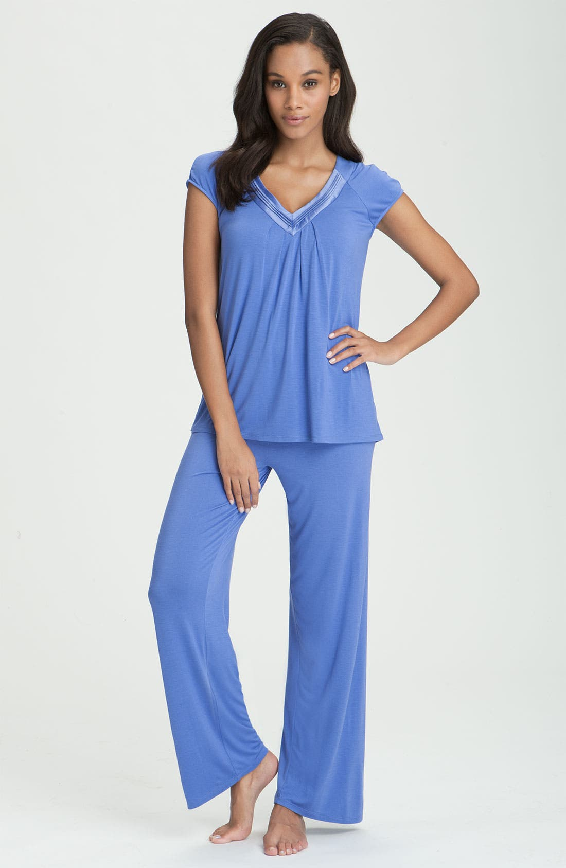 Alternate Image 1 Selected - Midnight by Carole Hochman 'Love Letters' Pajama Set