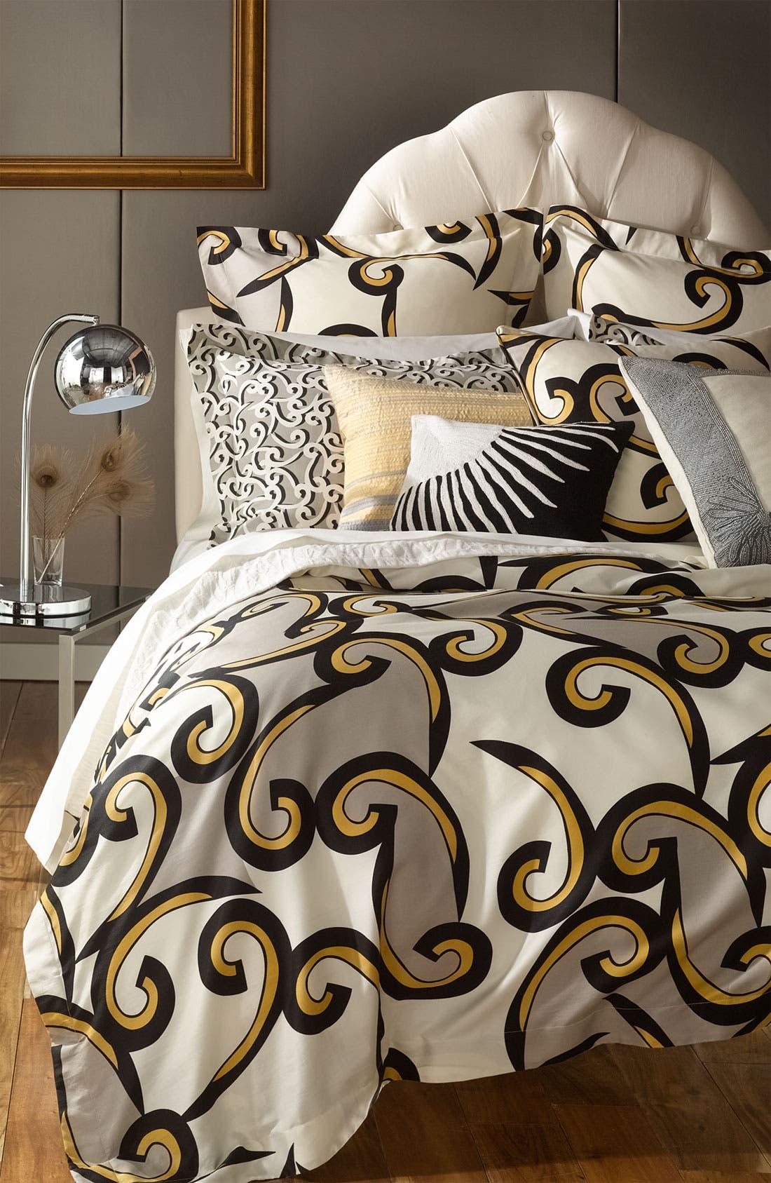 Alternate Image 2  - Diane von Furstenberg 'Beaded Border' Pillow