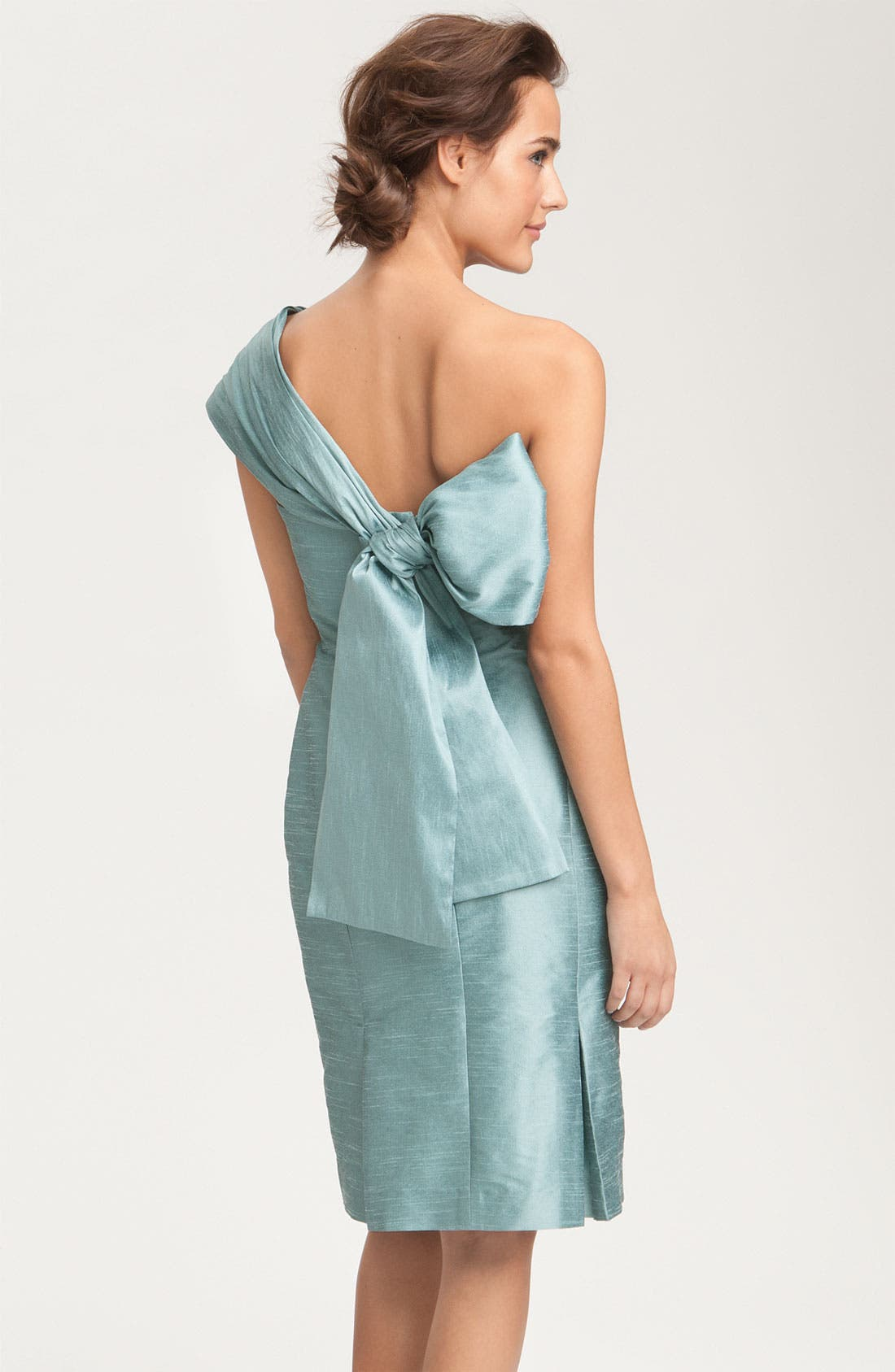 Alternate Image 4  - Anna Elyse Bridesmaids Convertible Shantung Dress