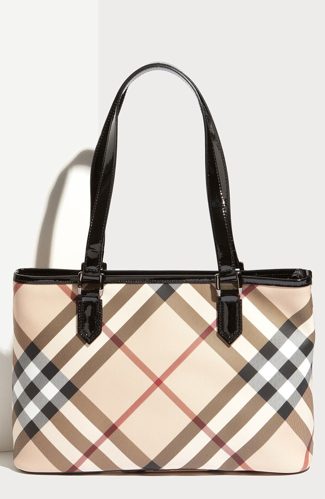 Alternate Image 1 Selected - Burberry 'Nova Check' Shopper