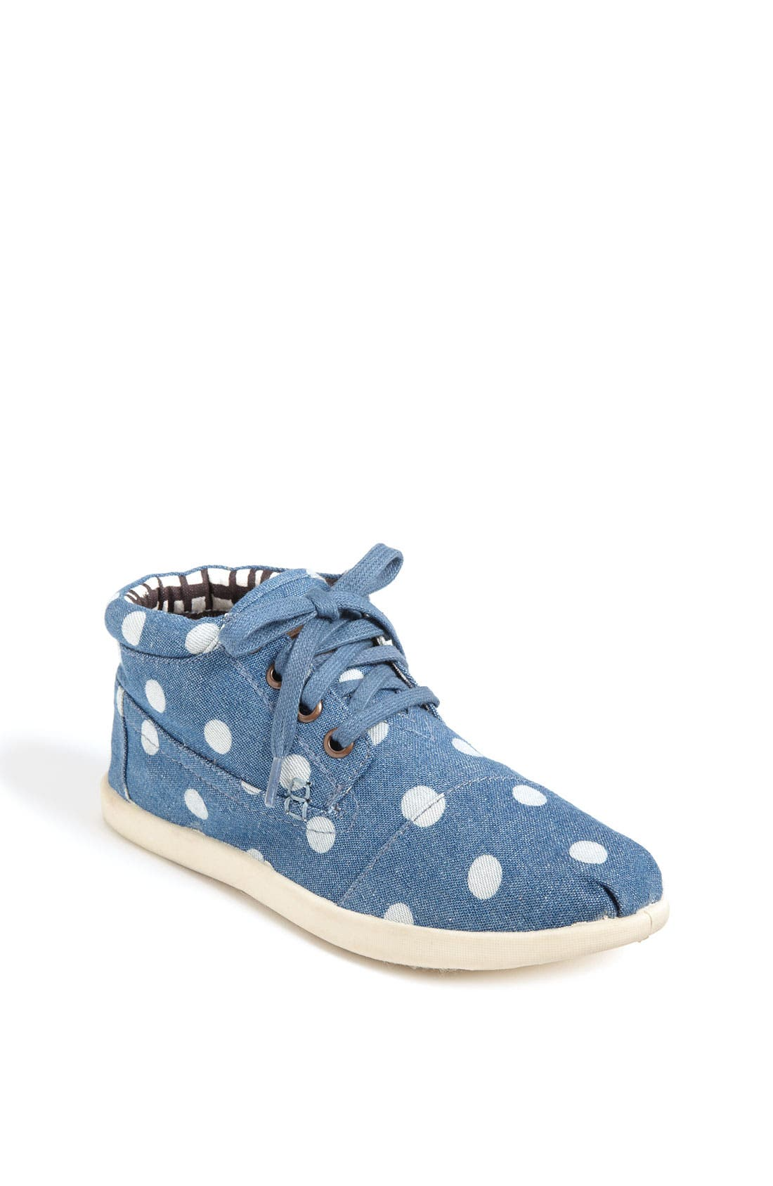 Alternate Image 1 Selected - TOMS 'Botas Youth - Marley' Canvas Boot (Toddler, Little Kid & Big Kid)