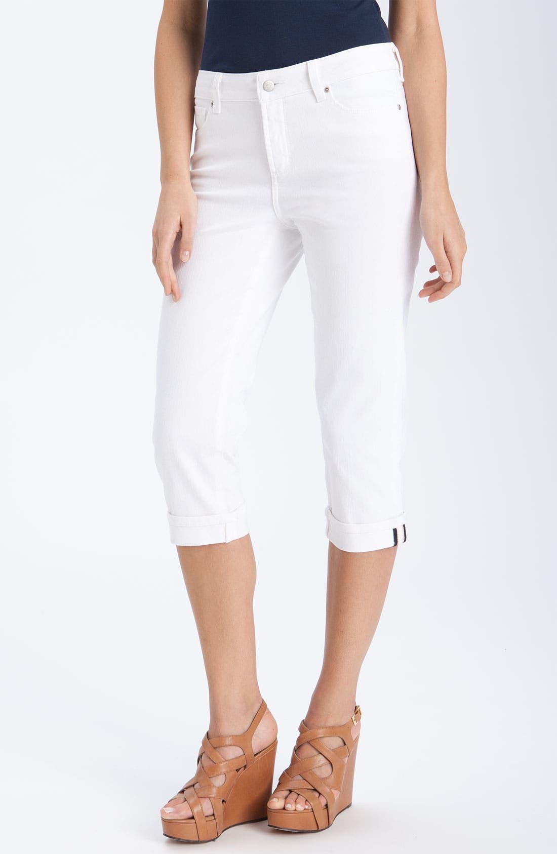 Alternate Image 1 Selected - NYDJ 'Edna' Crop Stretch Jeans