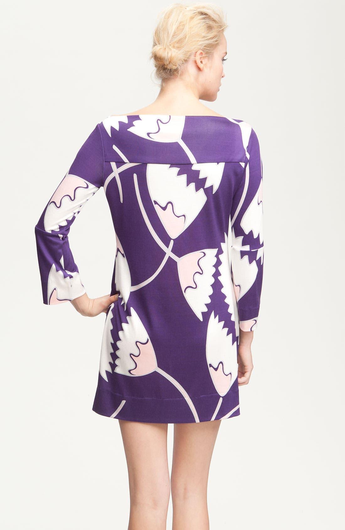 Alternate Image 2  - Diane von Furstenberg 'Ruri' Print Silk Minidress