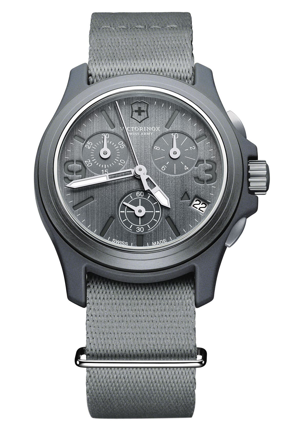 Alternate Image 1 Selected - Victorinox Swiss Army® 'Original' Chronograph Watch, 40mm