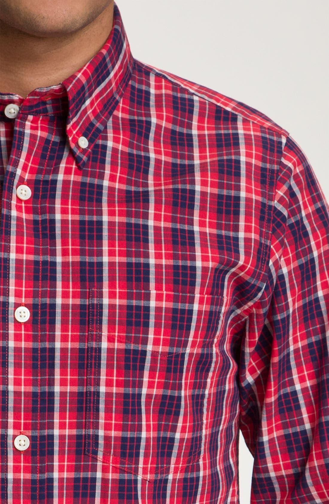 Alternate Image 3  - Jack Spade 'Adler' Plaid Woven Shirt
