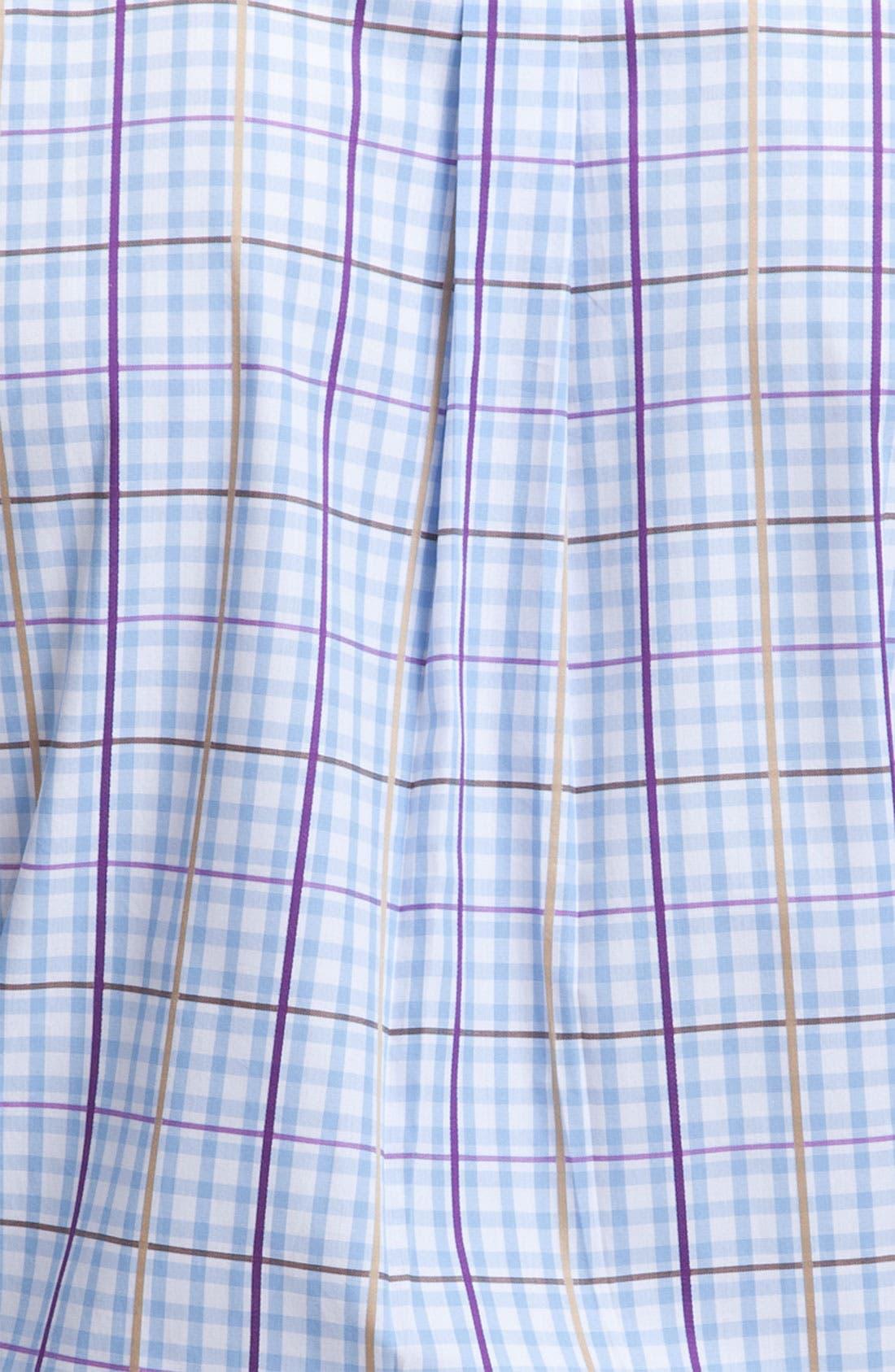 Alternate Image 3  - Peter Millar Check Sport Shirt