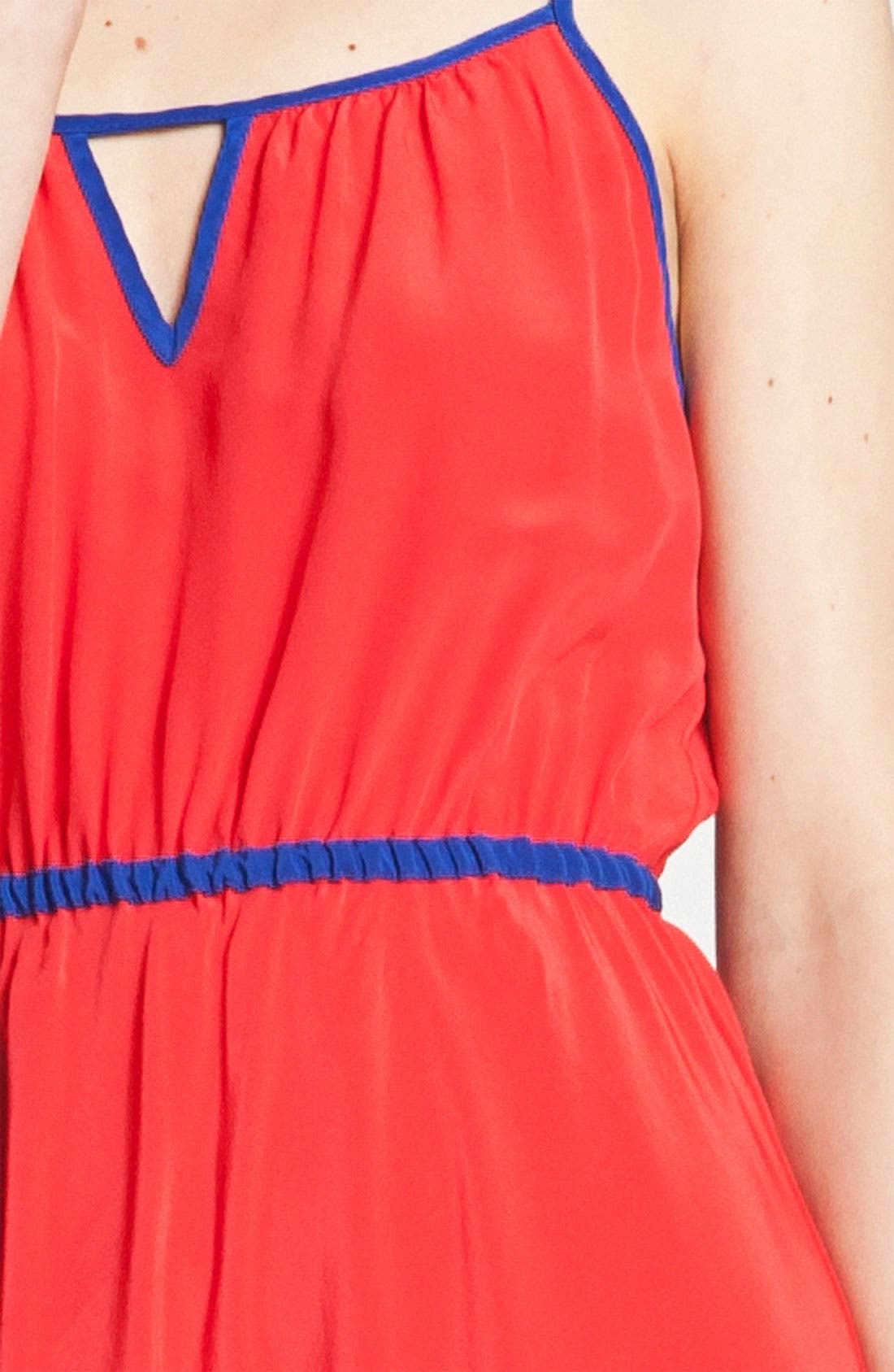Alternate Image 3  - Willow & Clay Colorblock Asymmetrical Hem Dress
