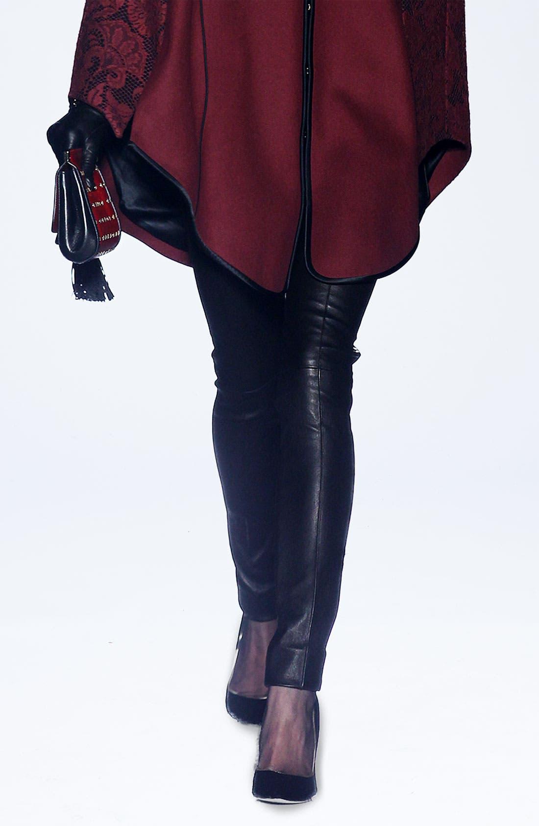 Alternate Image 4  - Jason Wu Stovepipe Leather Pants
