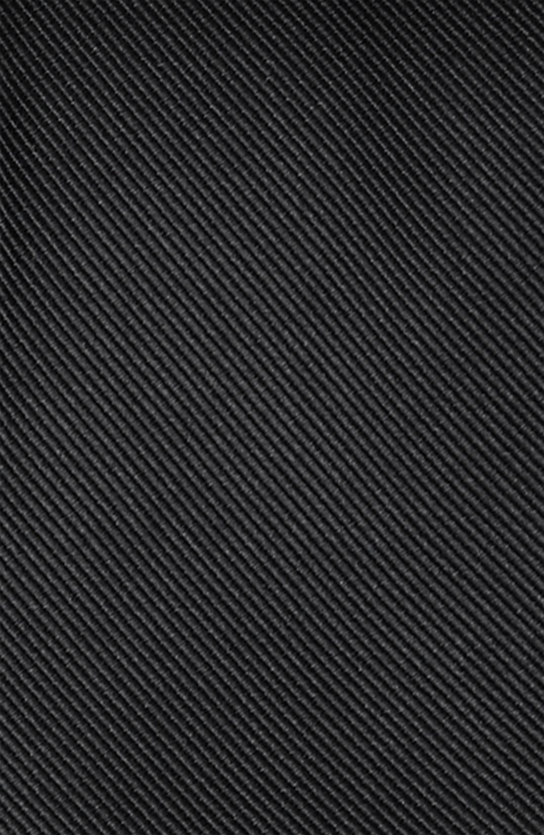Alternate Image 2  - Public Opinion Solid Silk Tie