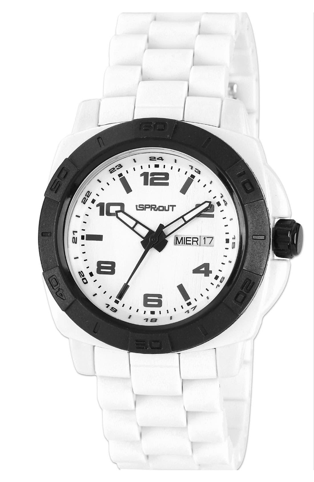 Alternate Image 2  - SPROUT™ Watches Round Bracelet Watch, 41mm