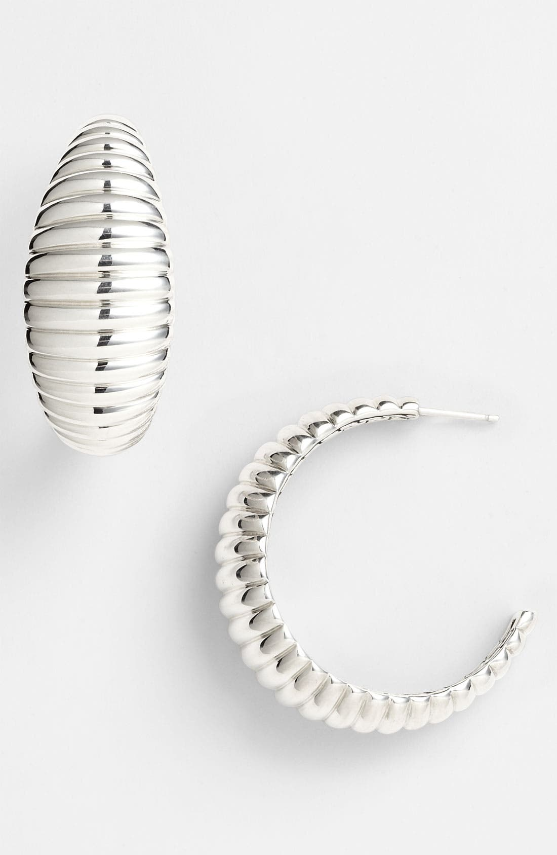 Alternate Image 1 Selected - John Hardy 'Bedeg' Hoop Earrings