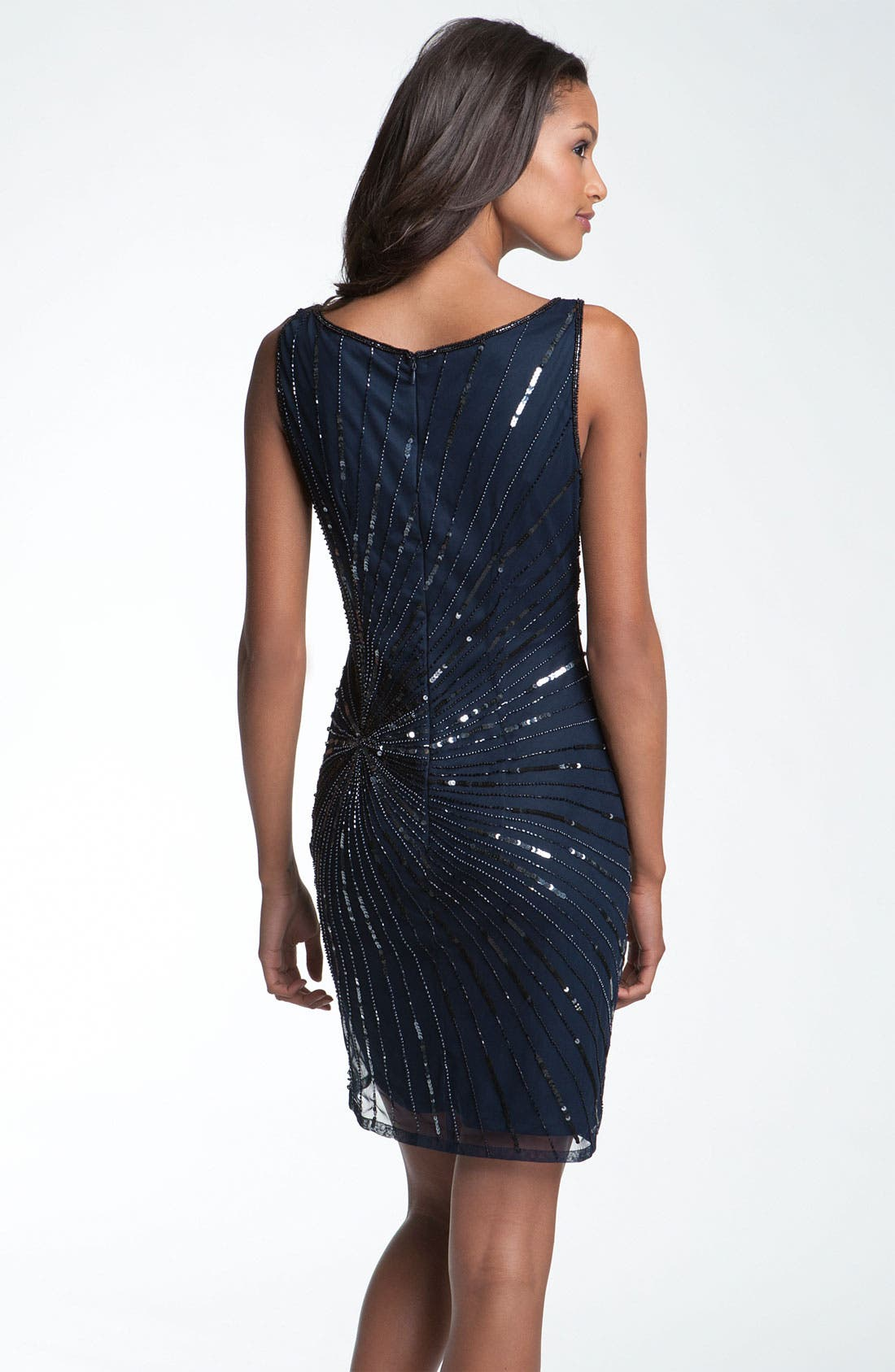 Alternate Image 2  - Pisarro Nights Bead & Sequin Shift Dress