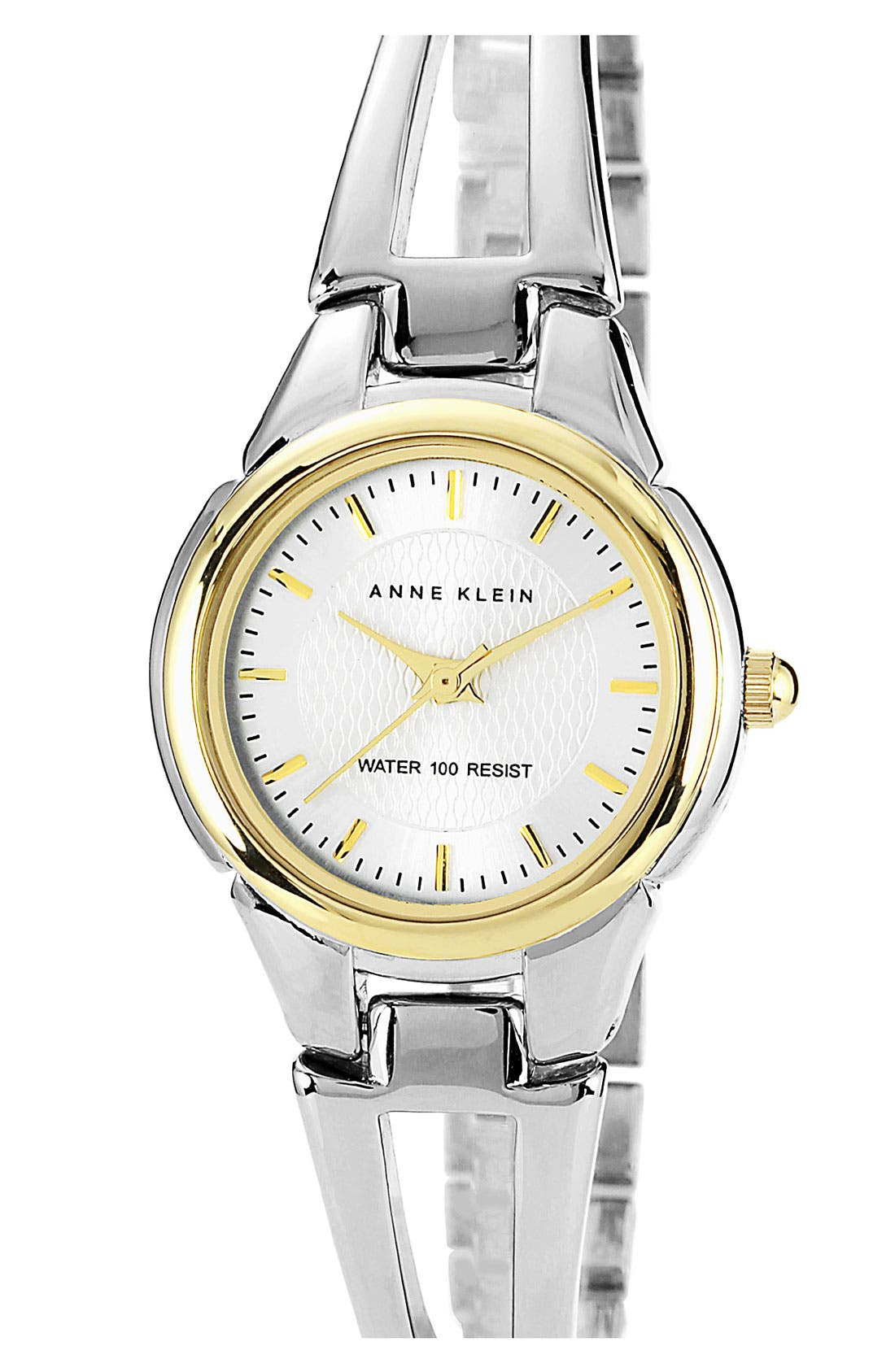 Main Image - Anne Klein Small Round Bangle Watch, 26mm