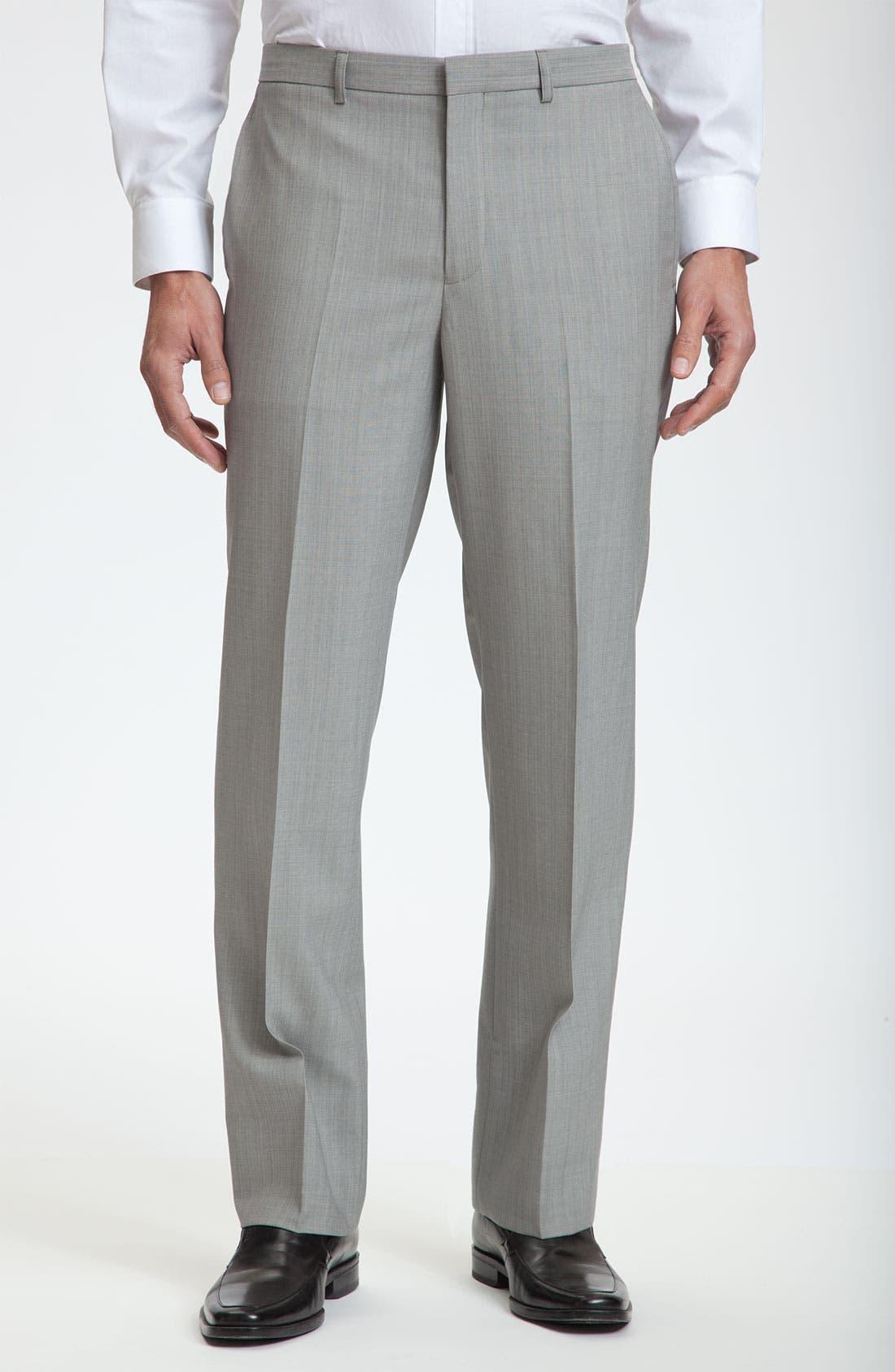 Alternate Image 1 Selected - Calibrate Flat Front Wool Pants