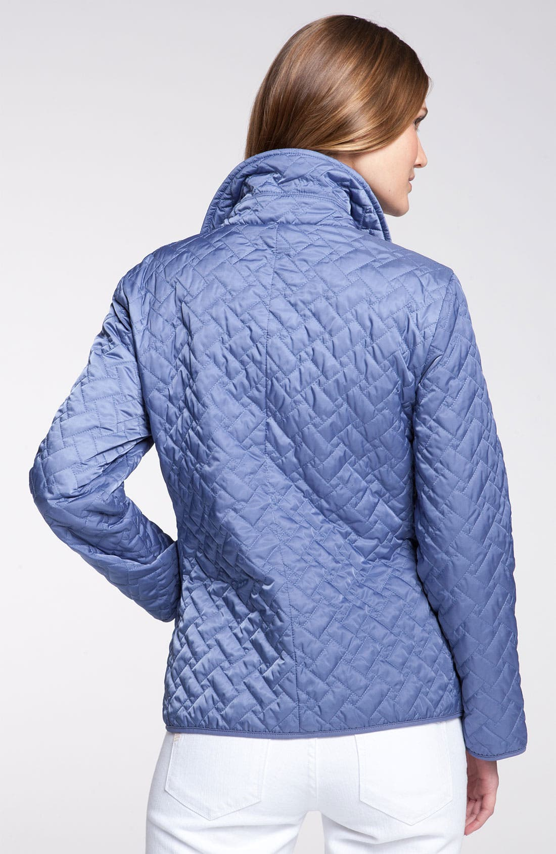 Alternate Image 2  - Cole Haan Short Quilted Jacket (Petite)