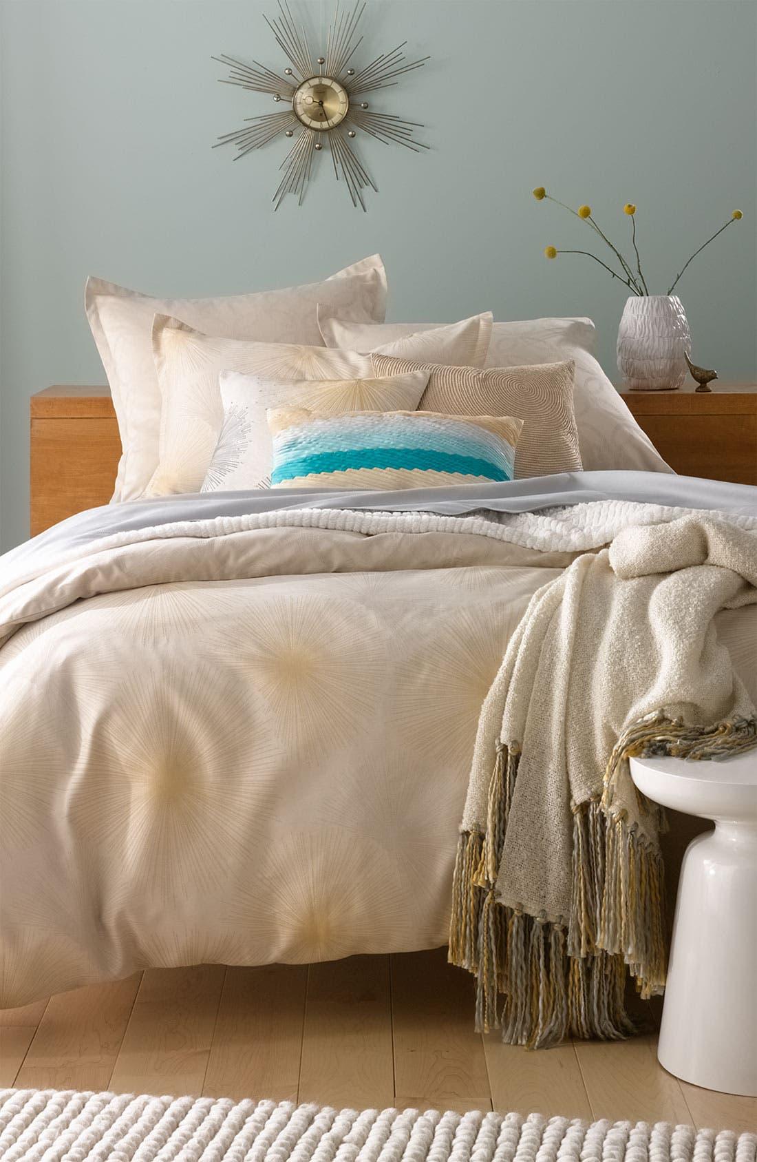 Alternate Image 2  - Nordstrom at Home 'Sunburst' Reversible Duvet Cover