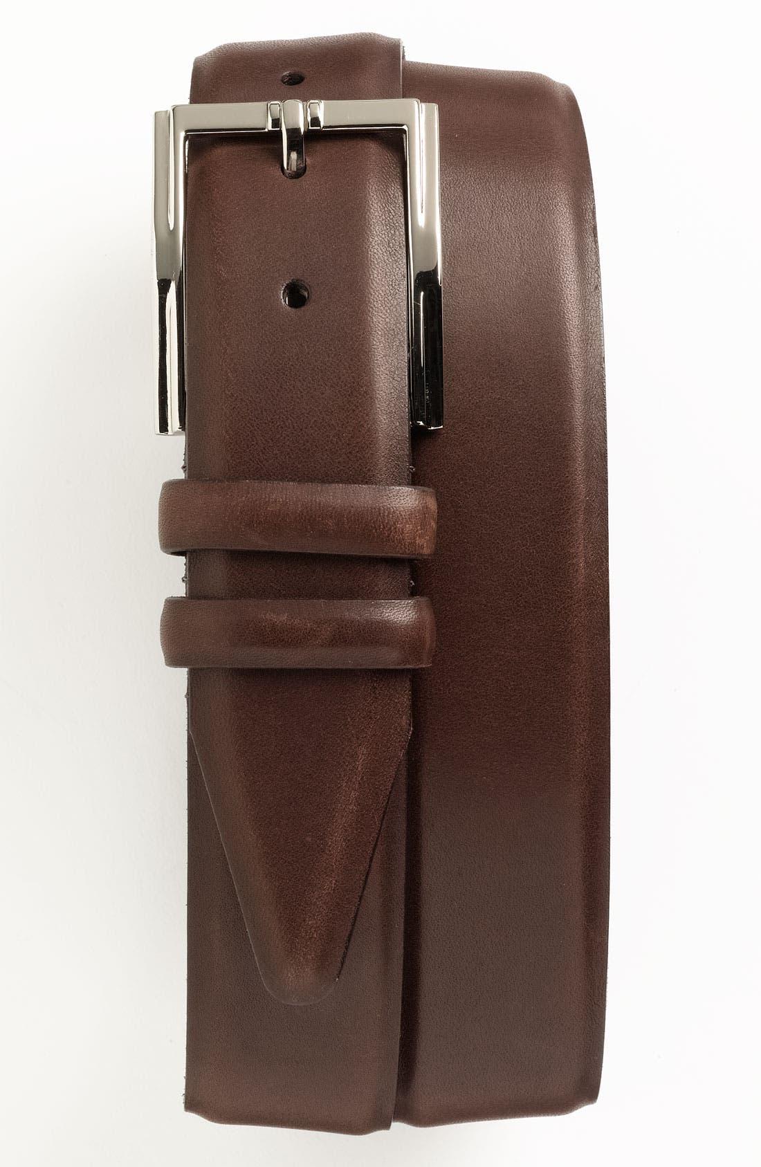 Main Image - Bruno Magli 'Maioco' Calfskin Leather Belt