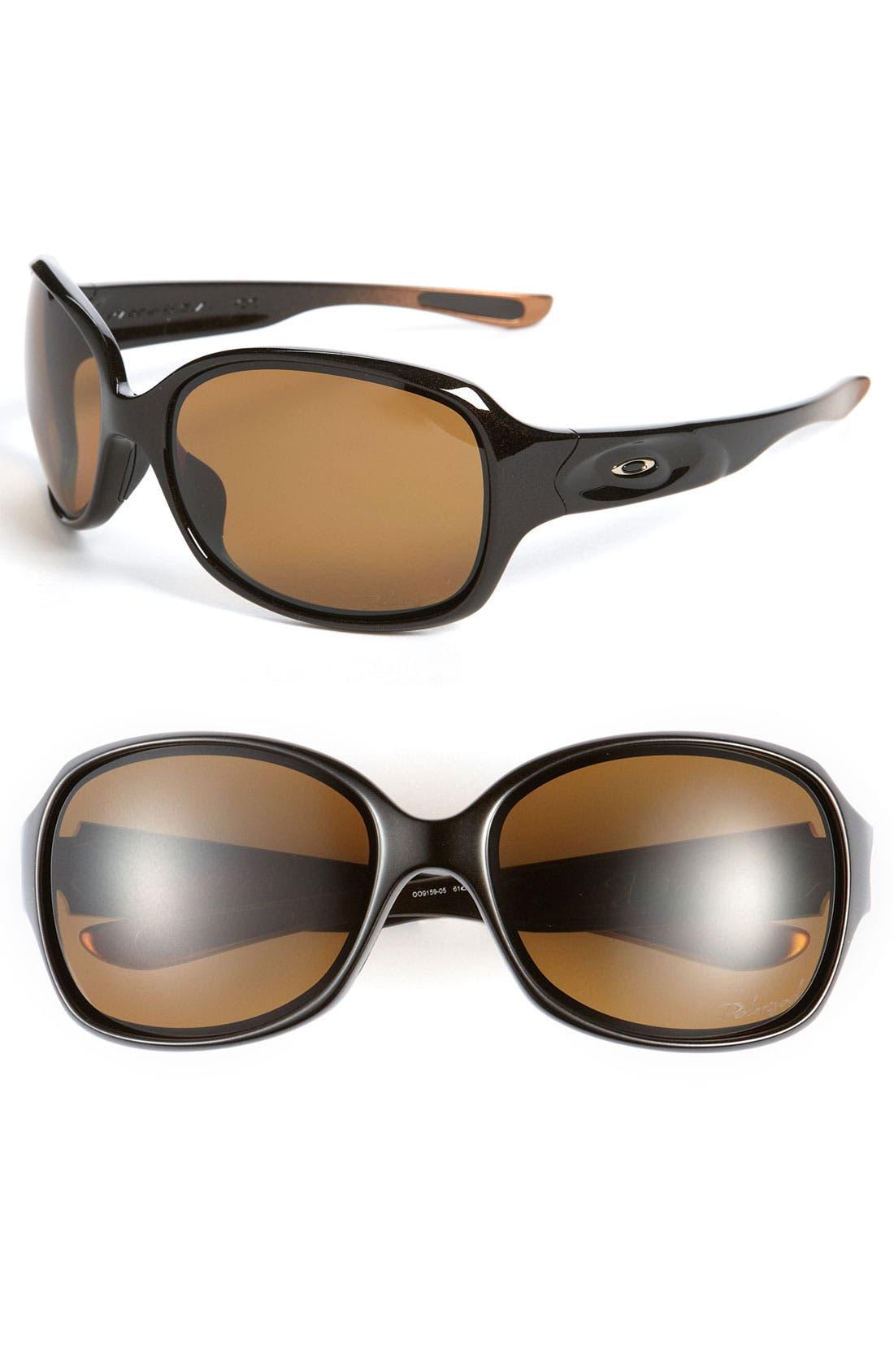 Alternate Image 1 Selected - Oakley 'Drizzle™' Polarized Sunglasses