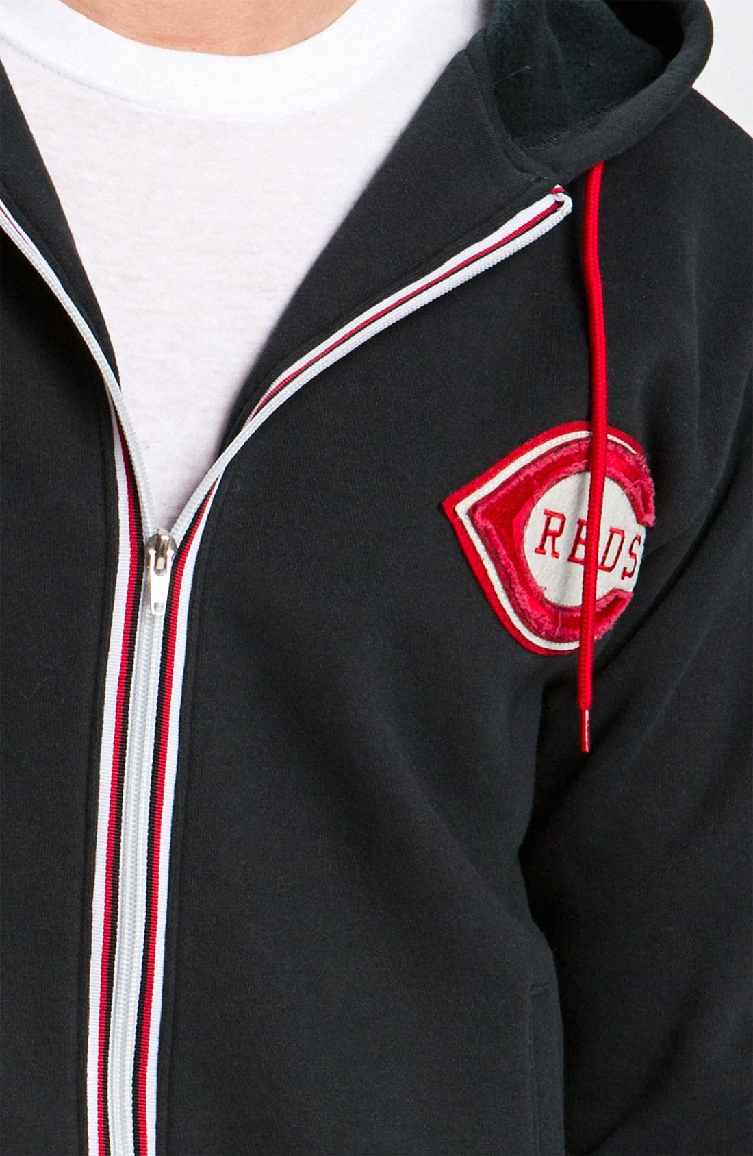 Alternate Image 3  - Wright & Ditson 'Cincinnati Reds' Hoodie