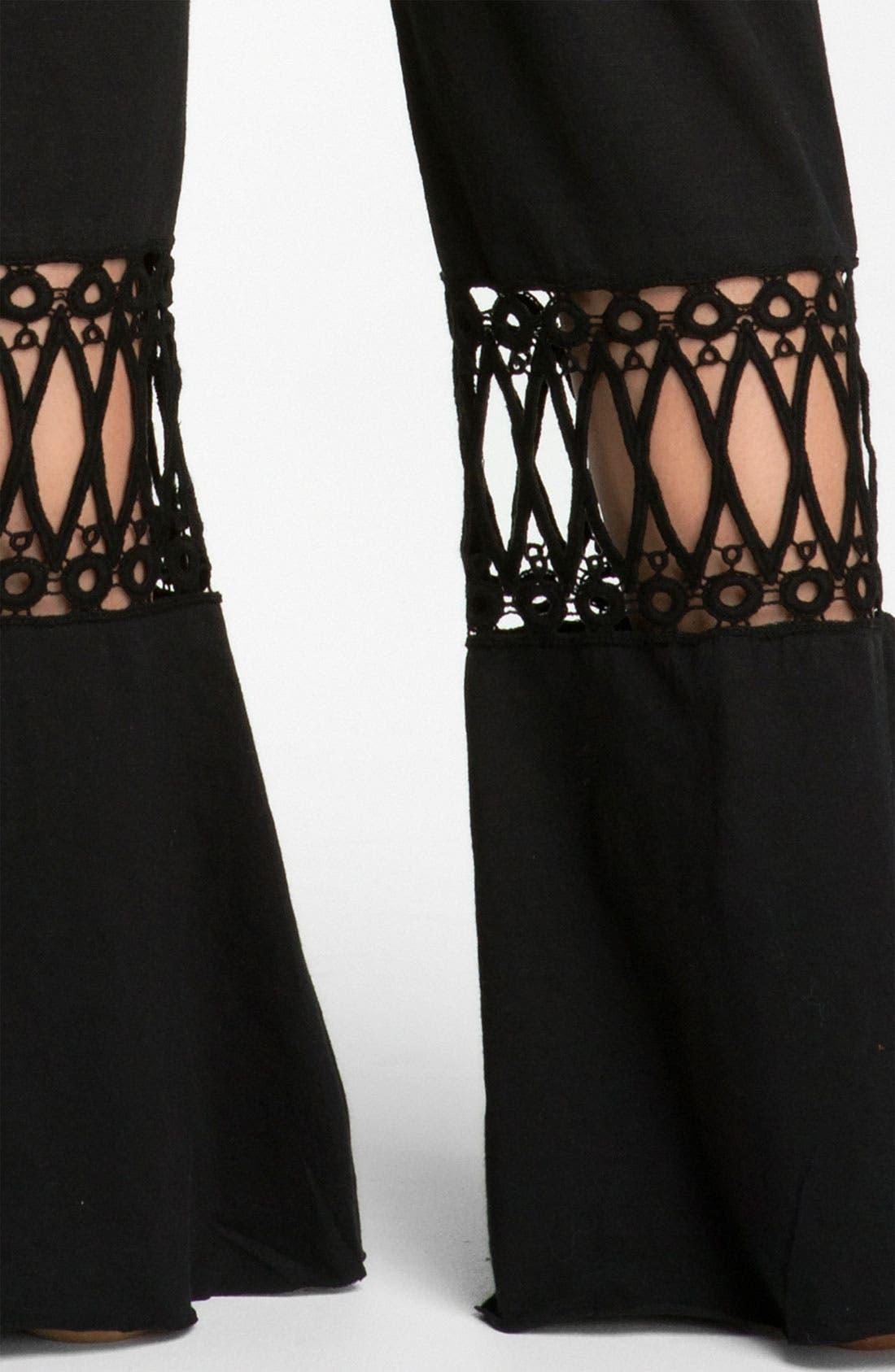 Alternate Image 3  - prAna 'Malibu' Crochet Detail Knit Pants