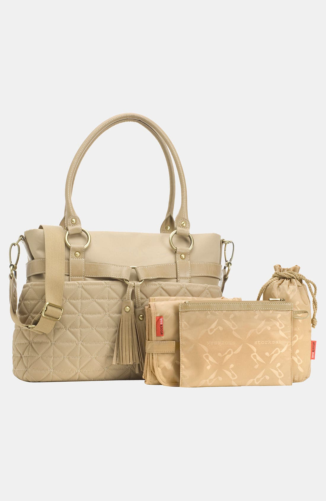 Alternate Image 2  - Storksak 'Isabella' Nylon Diaper Bag