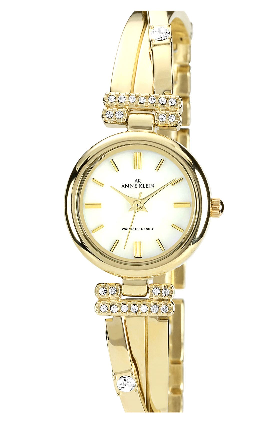 Main Image - Anne Klein Round Bangle Watch, 22mm
