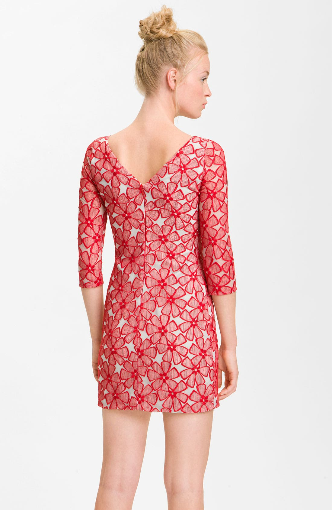Alternate Image 2  - Diane von Furstenberg 'Sarita' Lace Dress