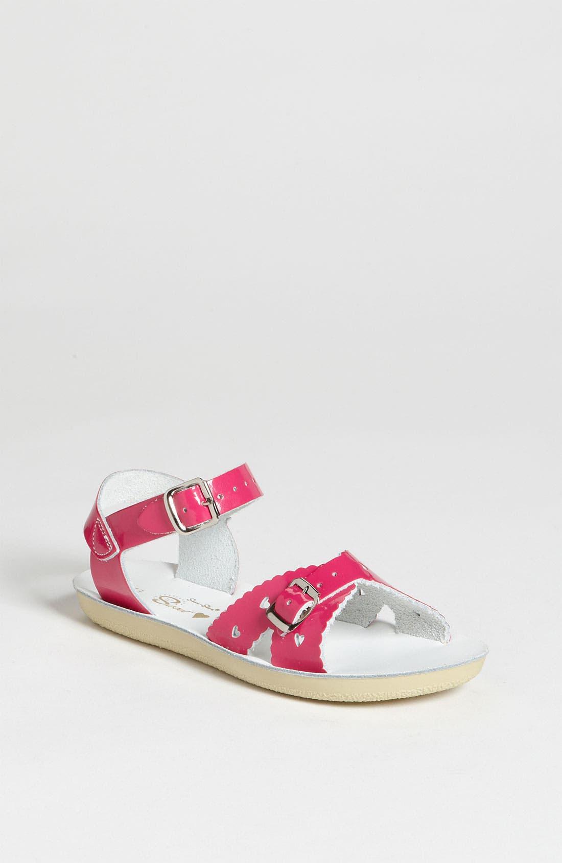 Alternate Image 1 Selected - Salt Water Sandals by Hoy 'Sweetheart' Sandal (Walker, Toddler & Little Kid)