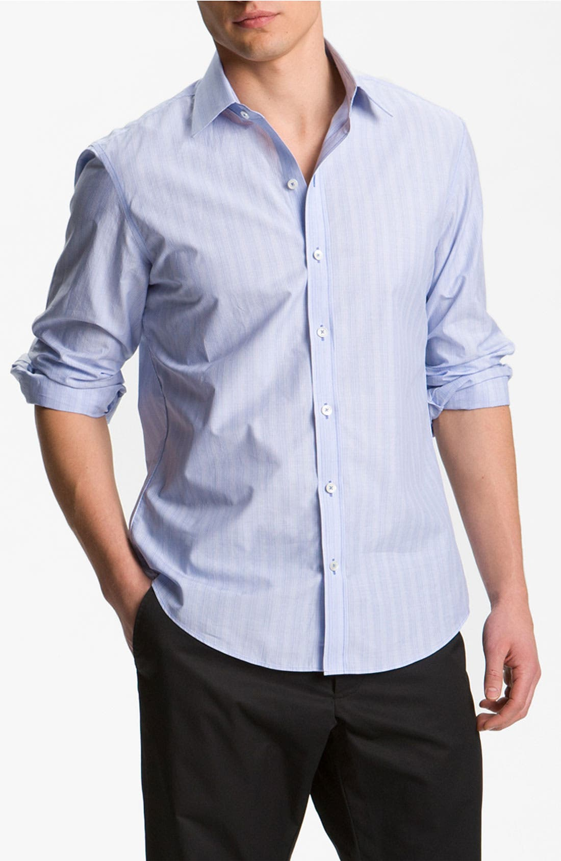 Alternate Image 1 Selected - Zachary Prell Slim Fit Sport Shirt
