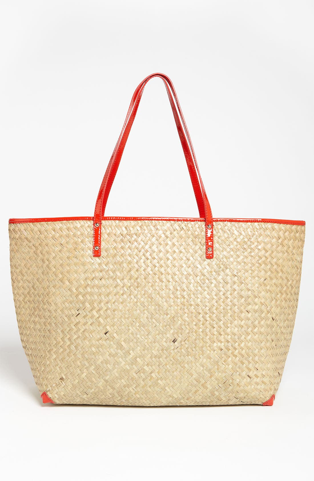 Alternate Image 4  - kate spade new york 'harmony' embroidered straw tote