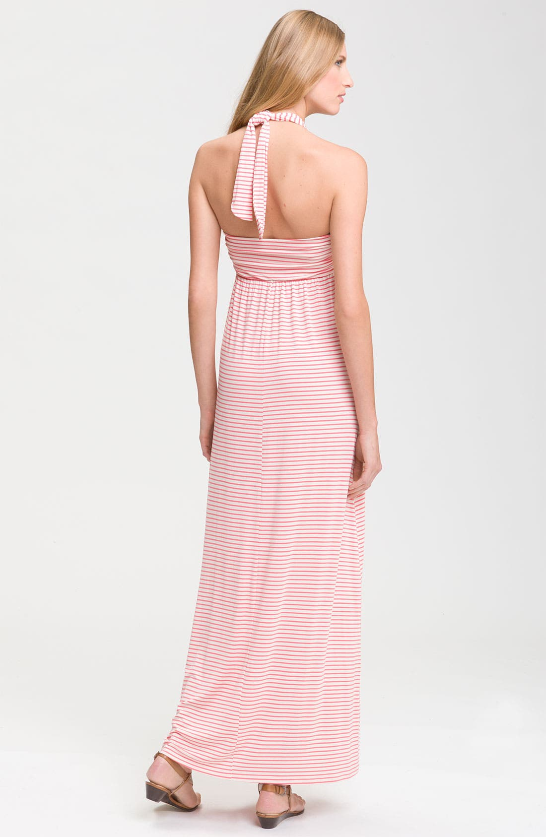 Alternate Image 2  - Felicity & Coco Stripe Halter Maxi Dress (Nordstrom Exclusive)