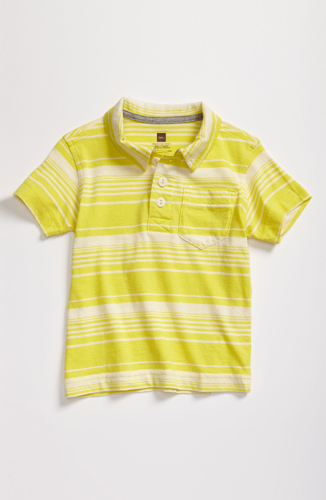 Main Image - Tea Collection 'Kangin' Stripe Polo (Toddler)
