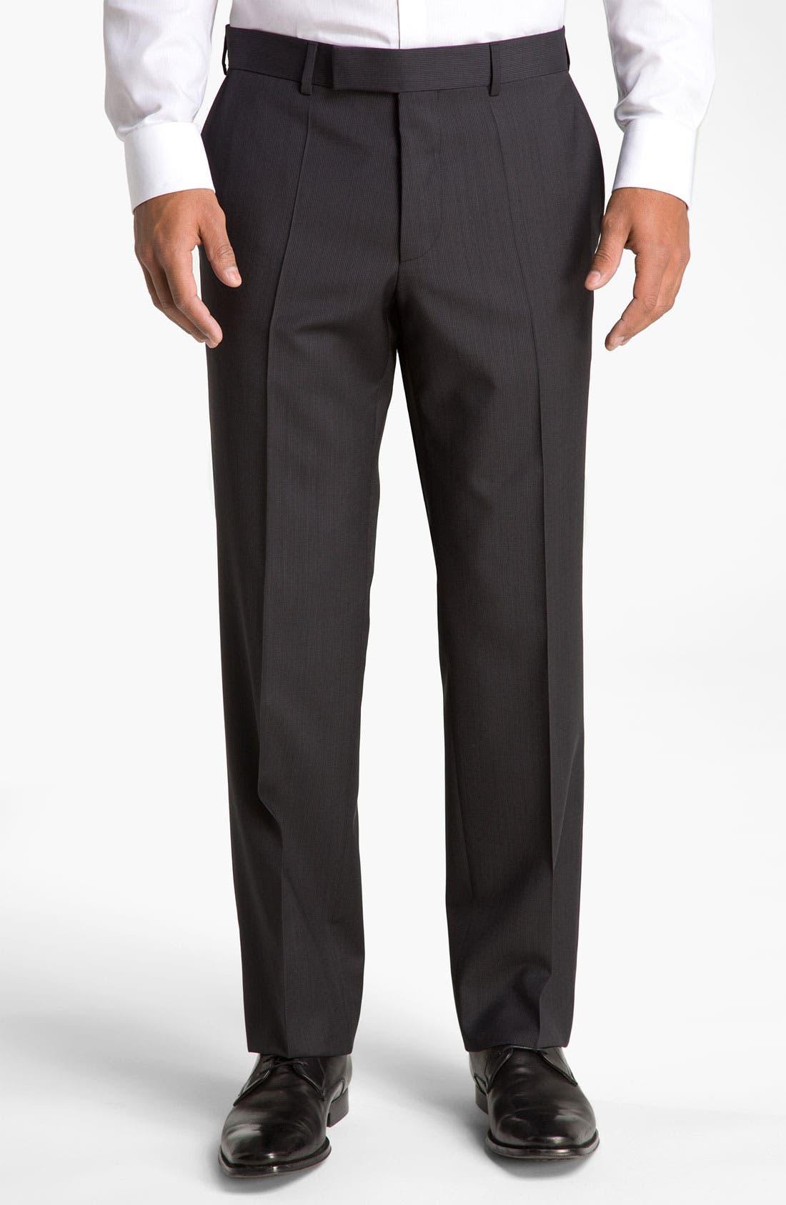 Alternate Image 4  - BOSS Black 'Pasini/Movie' Stripe Suit