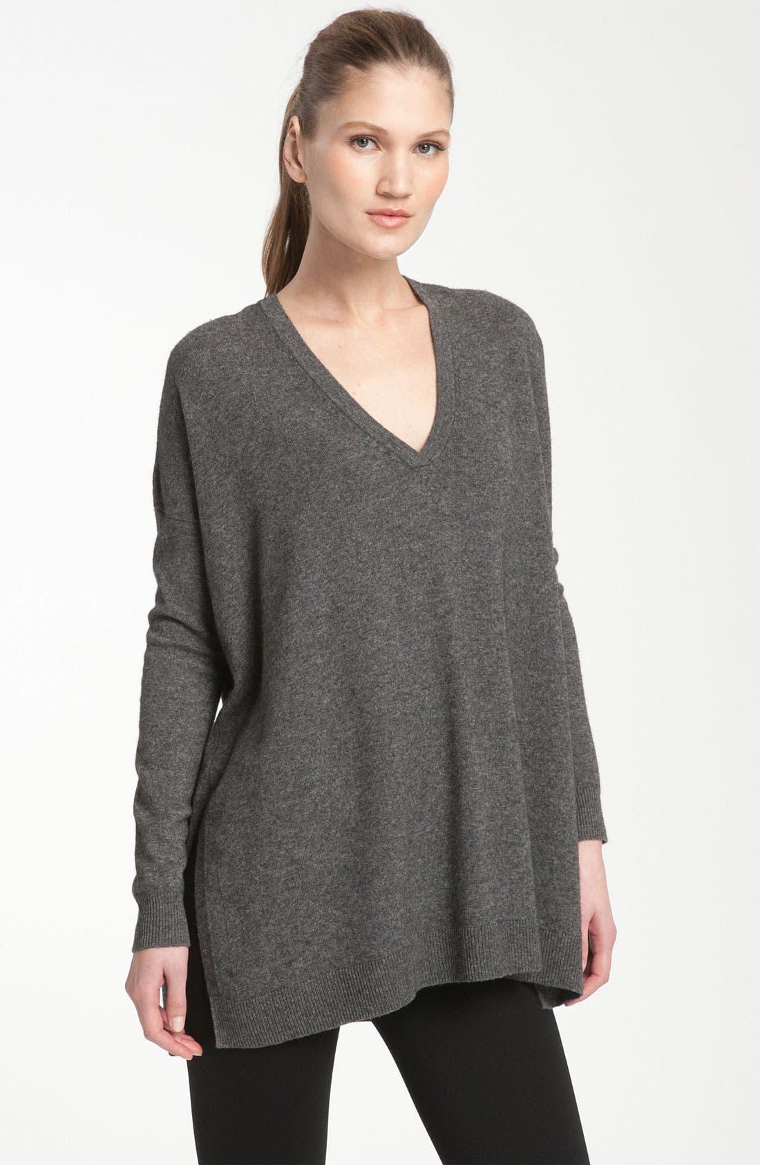 Alternate Image 1 Selected - Vince Boxy Sweater Tunic