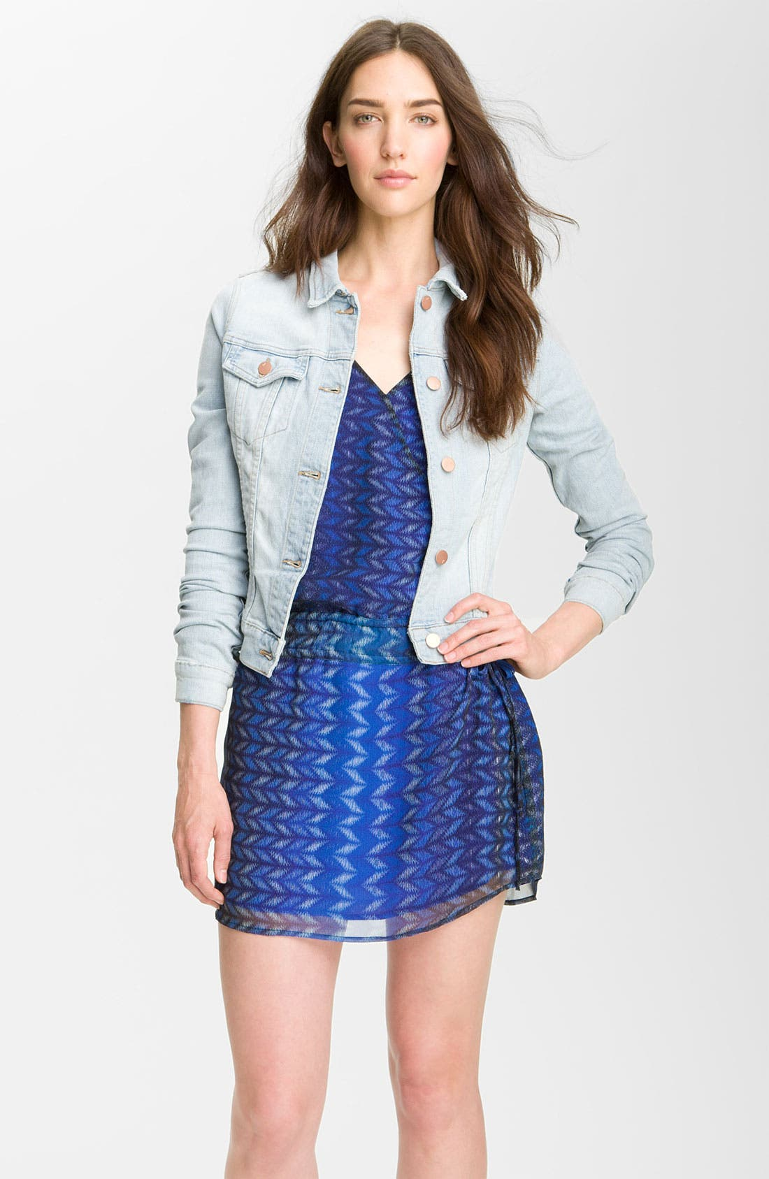 Alternate Image 1 Selected - J Brand Denim Jacket (Atomic)