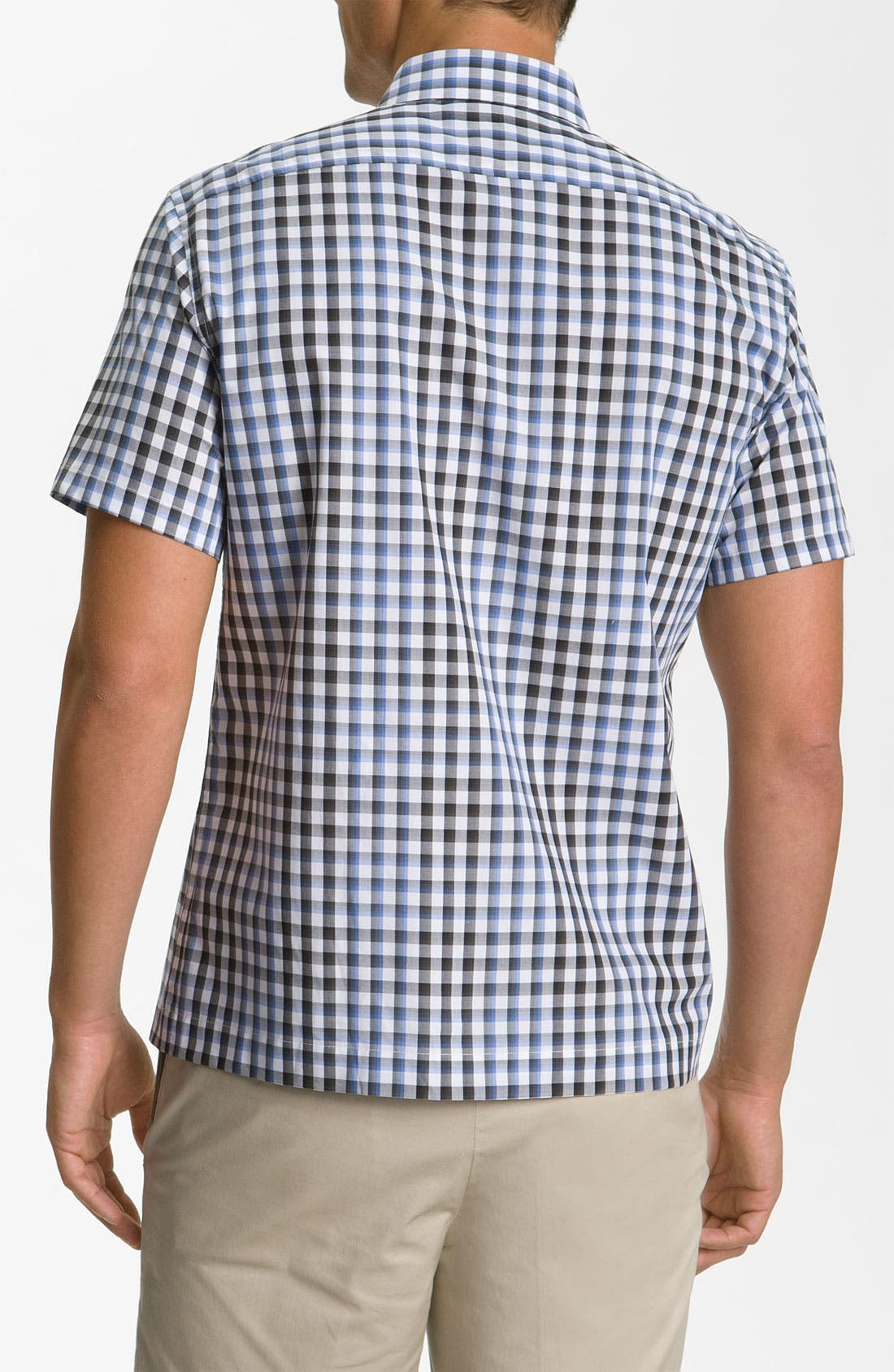 Alternate Image 2  - Michael Kors 'Nils' Check Plaid Woven Shirt