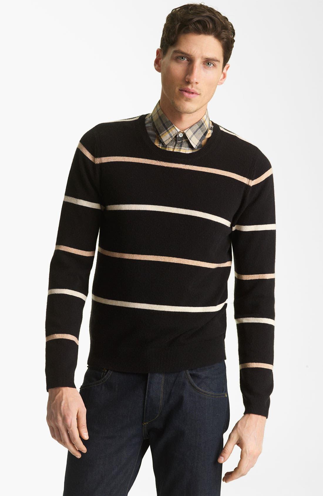 Alternate Image 1 Selected - Shipley & Halmos 'Laurel' Cashmere Sweater
