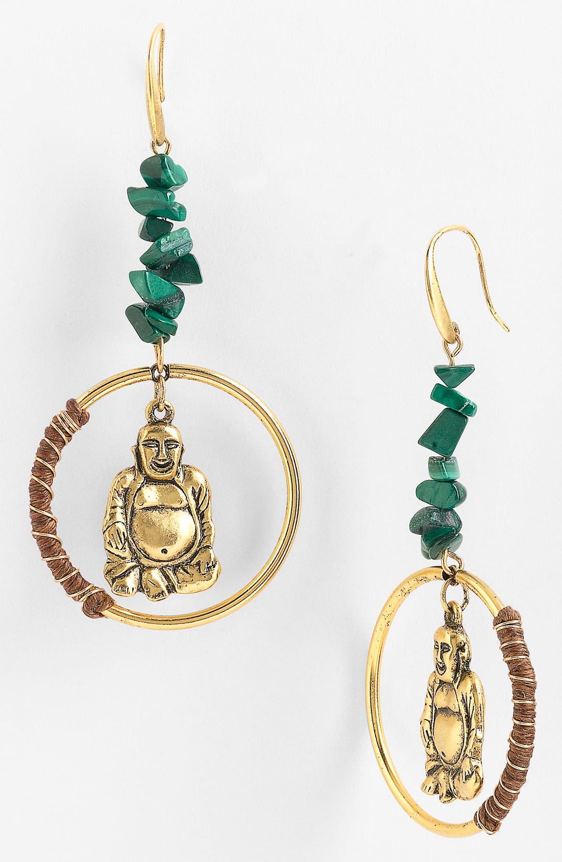 Alternate Image 1 Selected - T.R.U. Timeless Rare Unique 'Sitting Buddha' Earrings