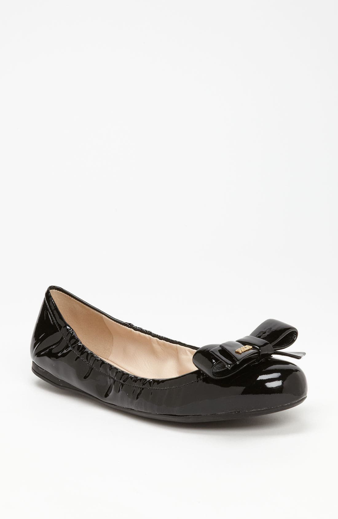 Alternate Image 1 Selected - Prada Bow Ballet Flat