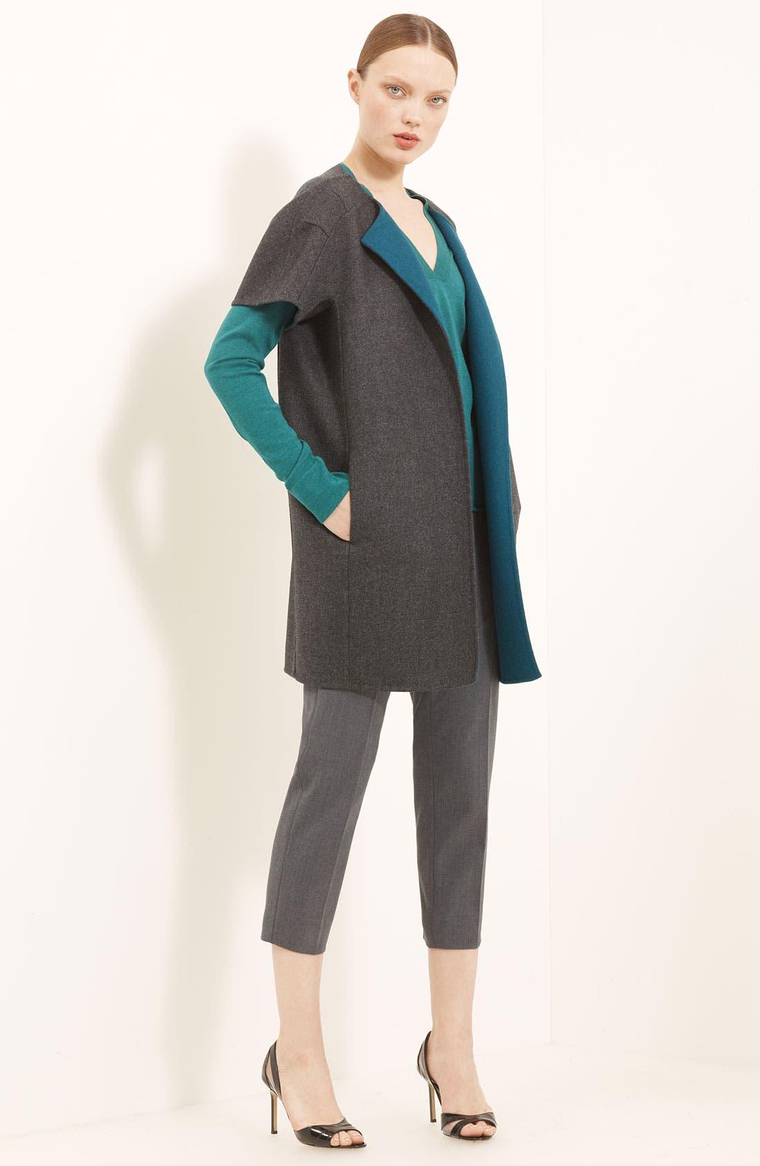 Alternate Image 2  - Piazza Sempione Wool & Silk Knit Top