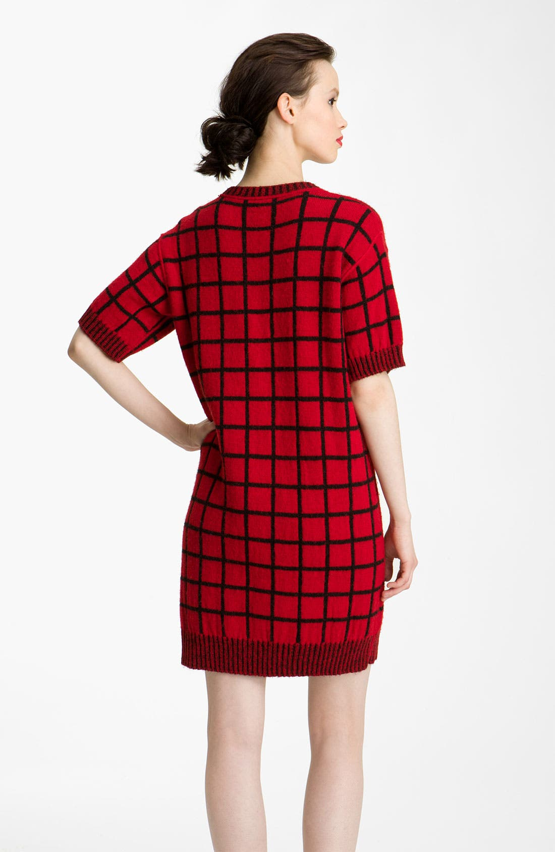 Alternate Image 2  - KENZO Windowpane Knit Dress